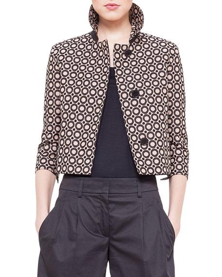 Punto Embroidered Boxy Jacket