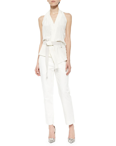 3.1 Phillip Lim Classic Pencil Pants, Antique White
