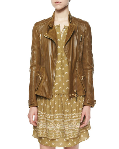 Broadwill Leather Biker Jacket
