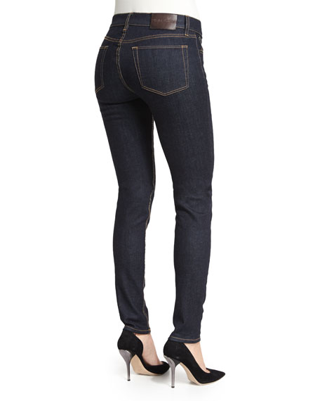 400 Matchstick Mid-Rise Jeans, Indigo Rinse