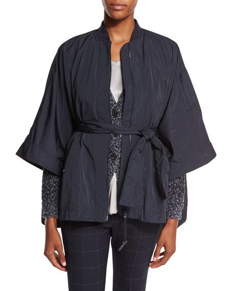 Brunello Cucinelli Sweater, Coat, Jeans & Tank