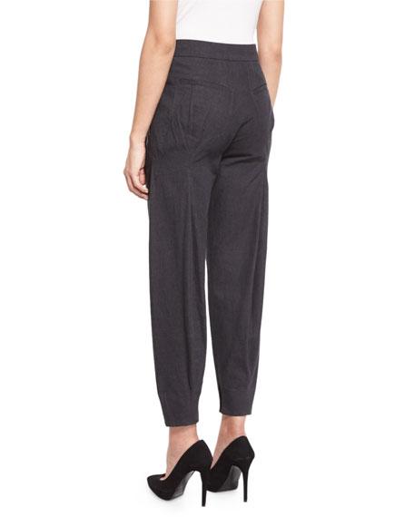 Modern Jodhpur Jeans, Charcoal
