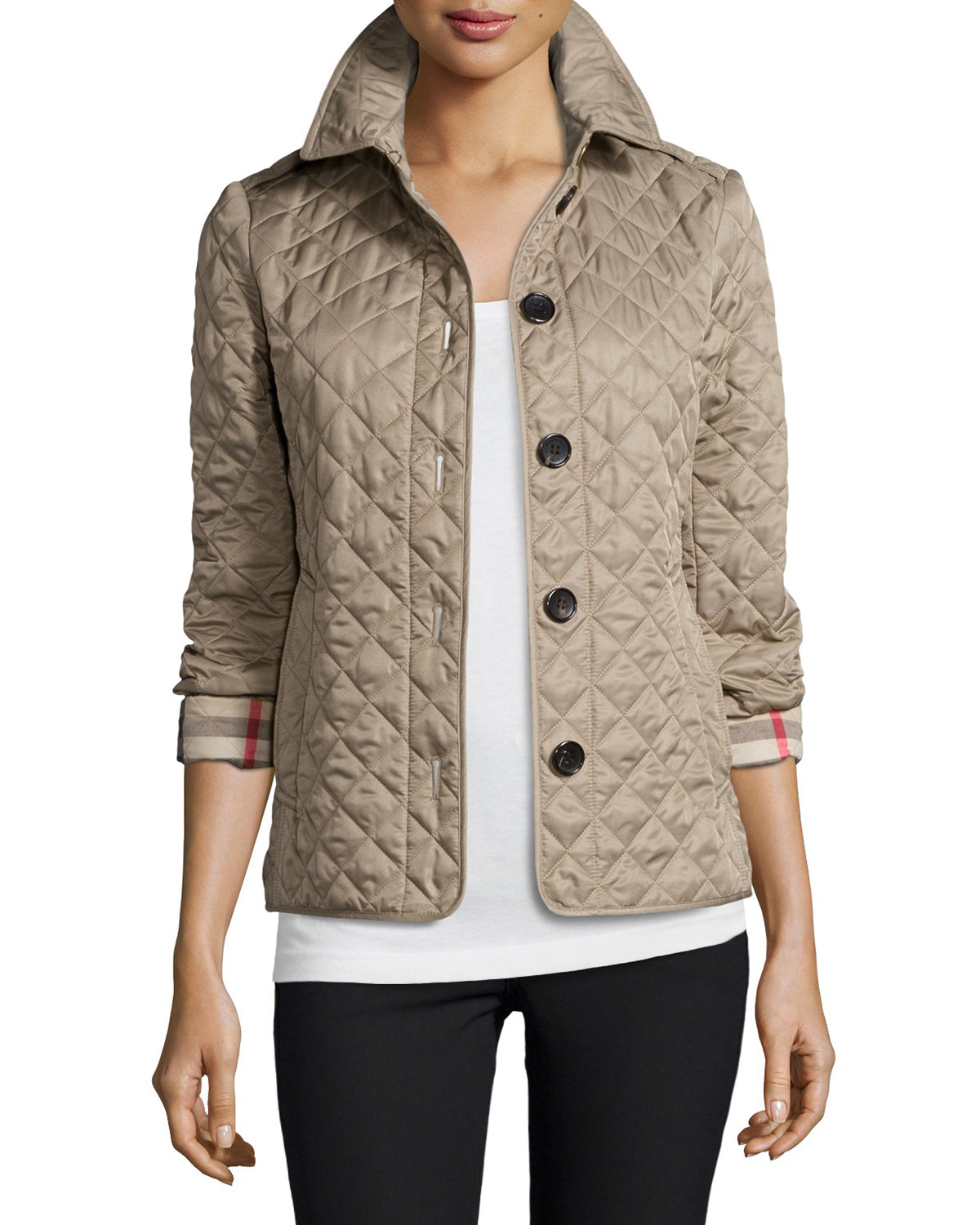 Burberry Ashurst Classic Modern Quilted Jacket Neiman Marcus