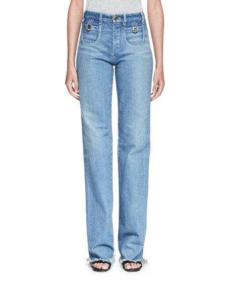 Chloe Blouse & Jeans