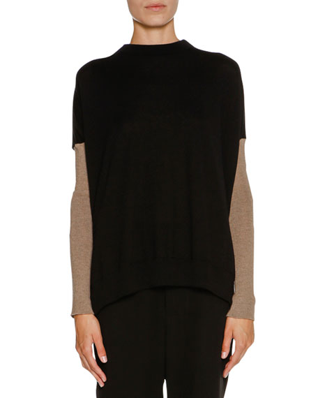 Marni Cashmere Bow-Back Sweater