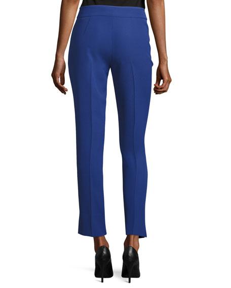 Techno Cady Ankle Pants, Blue Violet