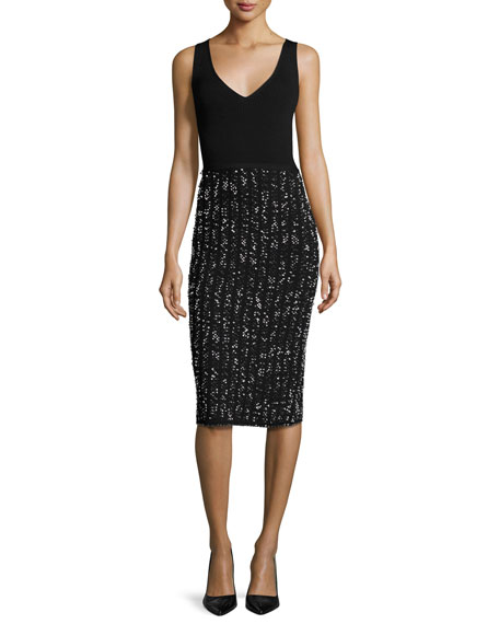 Lela Rose Shrug & Dress