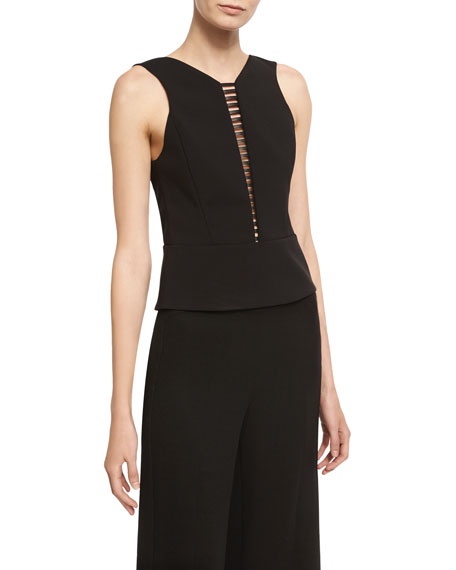 Narciso Rodriguez Narciso Rodriquez Sculpted Sleeveless Top with