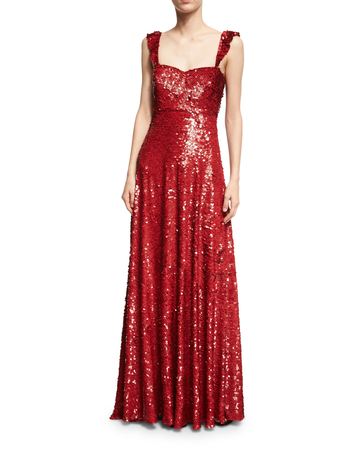 Straight Evening Gown | Neiman Marcus