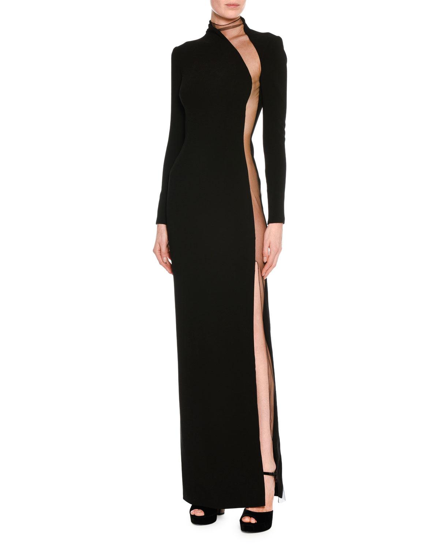 Black Silk Gown | Neiman Marcus