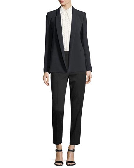 Tsisa Cropped Jersey Straight-Leg Pants