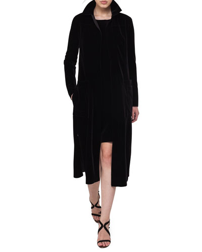 Mariel Velvet Overcoat