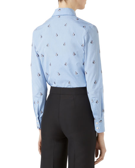 Rabbit Fil Coup&#233 Shirt, Light Blue
