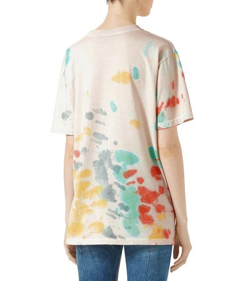 Gucci Print Cotton T-Shirt, Multicolor