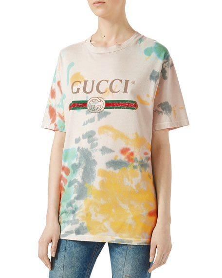 Gucci Print Cotton T-Shirt, Multicolor and Matching Items