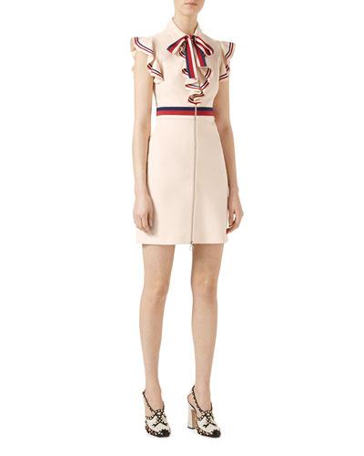 Sylvie Web Stretch Jersey Dress