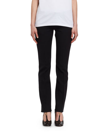 Chloe Low-Rise Wool Trousers