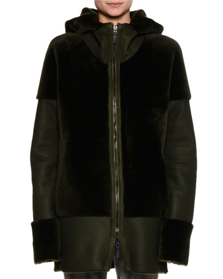 Piazza Sempione Reversible Shearling Parka