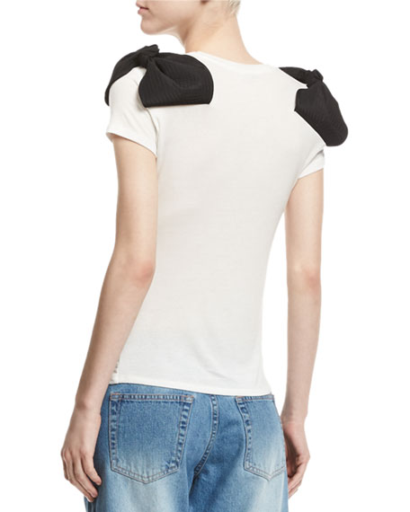 I Still Have a Dream Bow-Shoulder T-Shirt