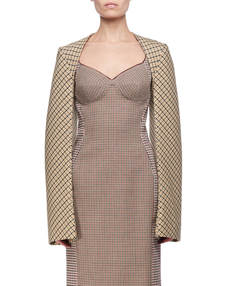Stella McCartney Check Cropped Bolero and Matching Items