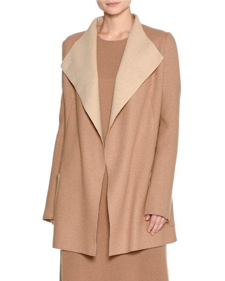 Platino Light Cashmere Jacket, Camel