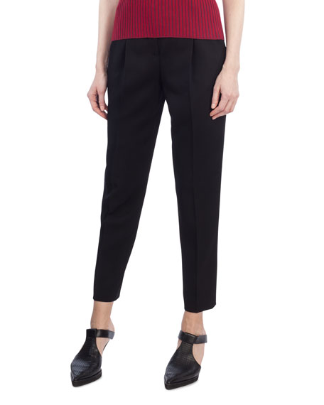 Akris punto Fred Cropped Chino Pants and Matching