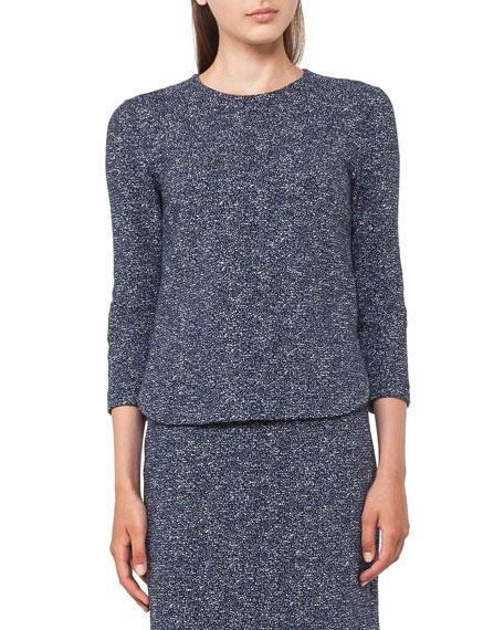 Akris punto Stretch-Jacquard Mini Skirt and Matching Items