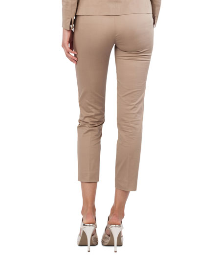 Frankie Stretch-Cotton Pants
