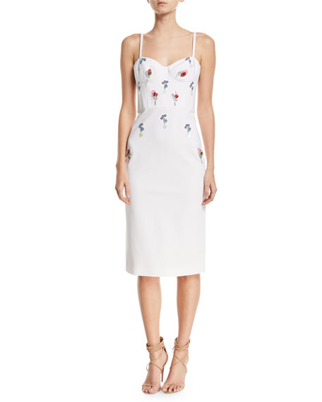 Cushnie Et Ochs Jaclyn Bustier Dress with Eclipse