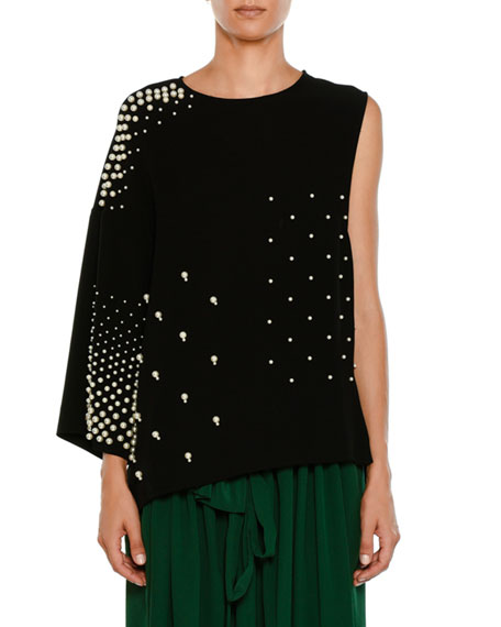 Stella McCartney Crewneck Sleeveless Paneled Tunic Top w/