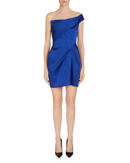 Roland Mouret Carleton One-Shoulder Tunic/Top/Dress