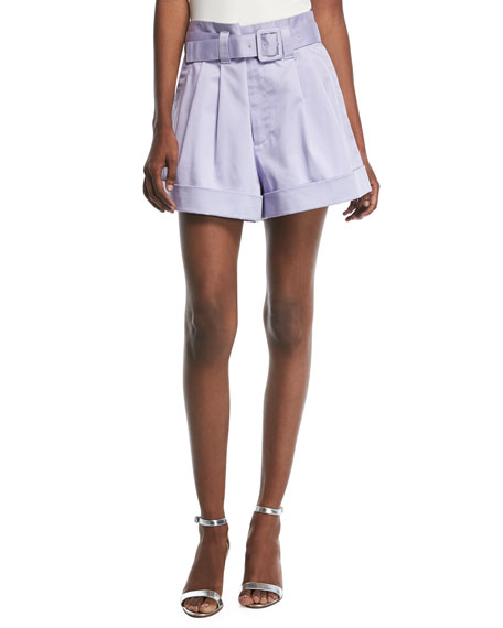 Marc Jacobs Belted High-Waist Shorts and Matching Items