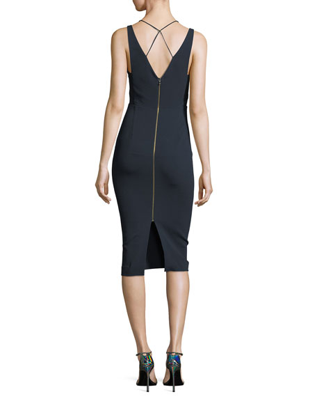 Newlyn Sleeveless Layered V-Neck Dress