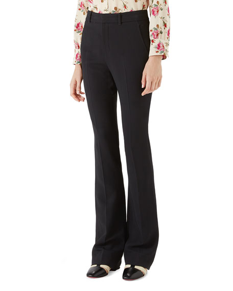 Gucci Light-Viscose Cady-Stretch Pants