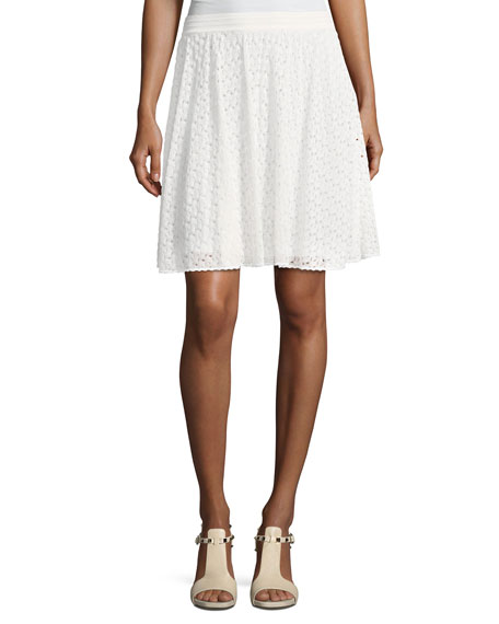 Missoni Lace Short A-Line Skirt