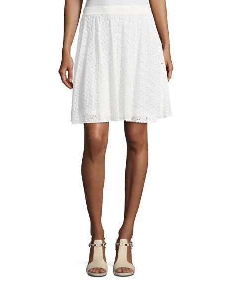 Lace Short A-Line Skirt