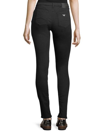 Straight-Leg Stretch-Denim Jeans