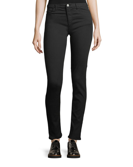 Emporio Armani Straight-Leg Stretch-Denim Jeans