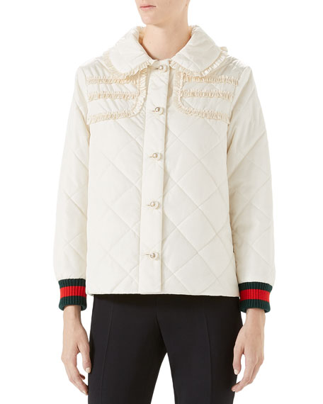 Gucci Quilted Nylon Jacket