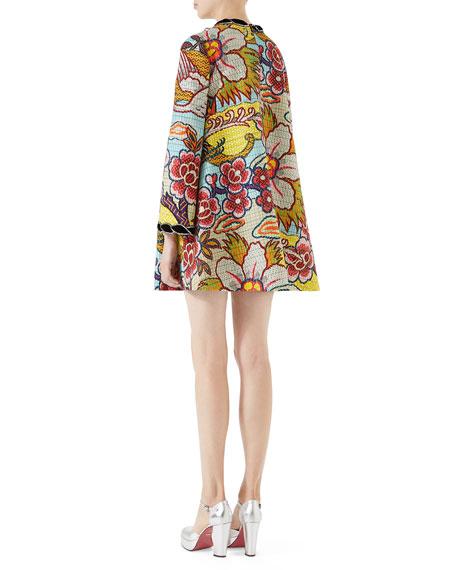 Landscape-Print Dress