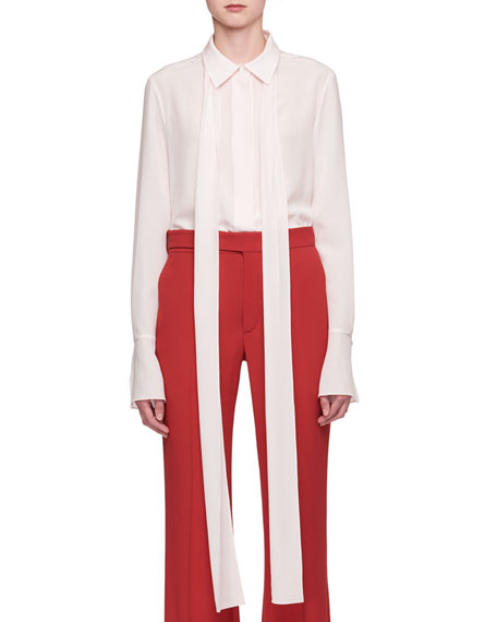 Chloe Cady Mid-Rise Flared Pants and Matching Items
