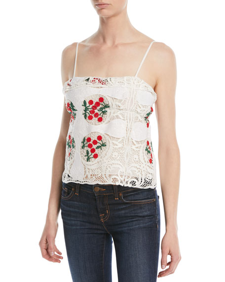 Talia Antique Lace Top