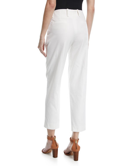 Tabilos Straight-Leg Ankle Pants