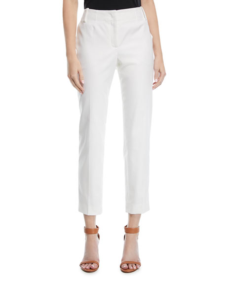 Escada Tabilos Straight-Leg Ankle Pants