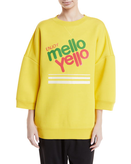 Marc Jacobs Mello Yello™ Crewneck Pullover Sweatshirt and