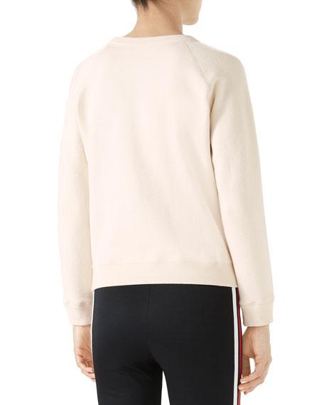 Gucci-Crest Embellished Sweatshirt