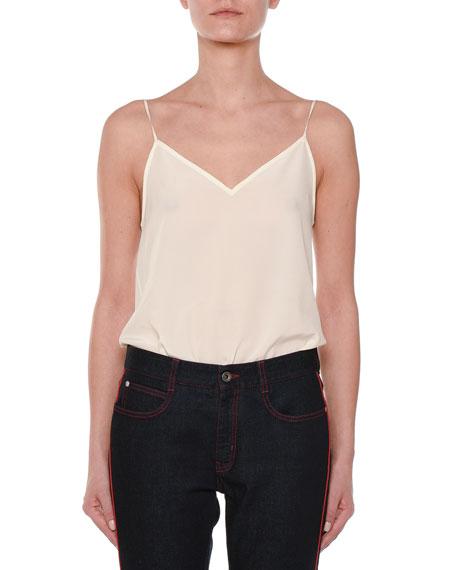 Stella McCartney V-Neck Silk Camisole Top