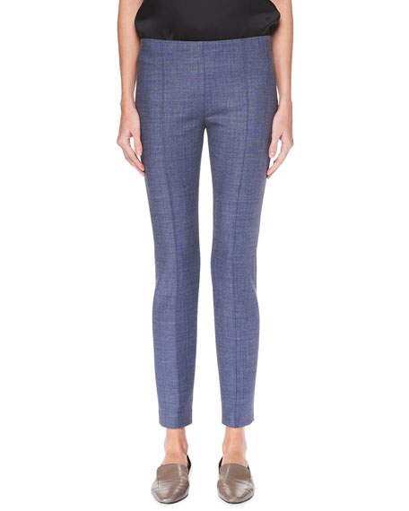 Cosso Wool-Stretch Skinny Pants