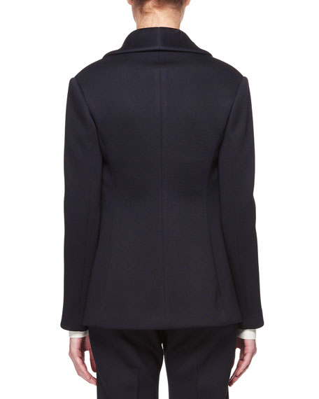 THE ROW Noph Shawl-Collar One-Button Jacket
