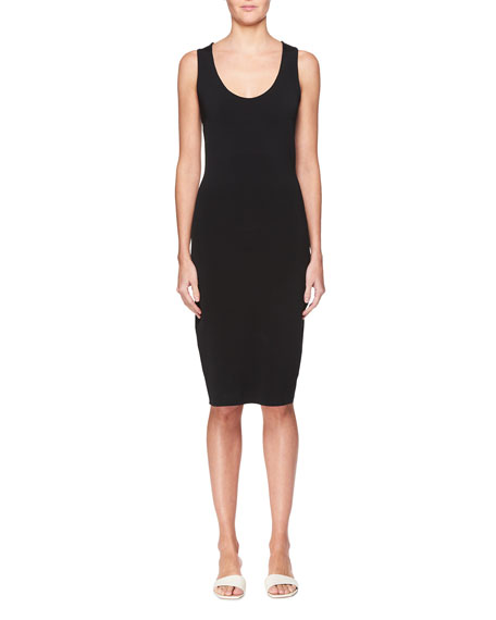 a8421d1188 Image 1 of 2  THE ROW Borelle Scoop-Neck Sleeveless Fitted Dress